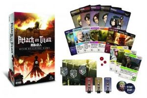 Attack on Titan : The Deck Building Game